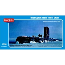 U.S. nuclear-powered submarine 'Skate' class 1/350