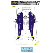 Sikorsky SH-3D Sea King over Spain 1/144