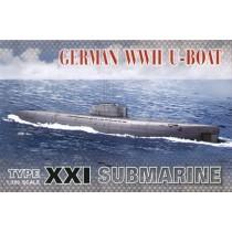 U-Boat Type XXI (submarines) 1/350