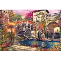 Puzzle Educa Romance en Venecia de 3000 Piezas