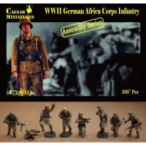 German Africa Korps Infantry (WWII) 1/72