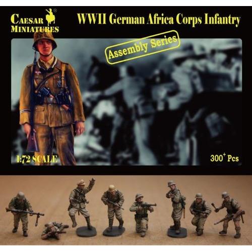 German Africa Korps Infantry (WWII) 1/72
