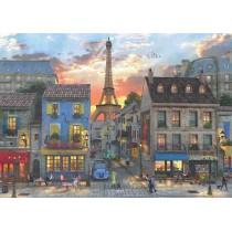 Puzzle Anatolian Calles del Centro de París de 3000 Piezas