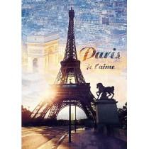 Puzzle Trefl Paris al Atardecer de 1000 Piezas
