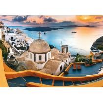 Puzzle Trefl Santorini de 1000 Piezas