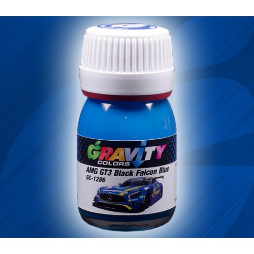 AMG GT3 Black Falcon Blue Gravity Colors Paint– GC-1286