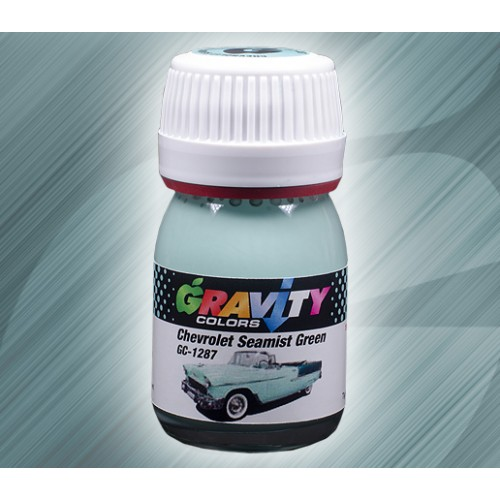 Chevrolet Seamist Green Gravity Colors Paint– GC-1287