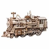 Locomotive LK701 Mechanical Wooden Train Kit