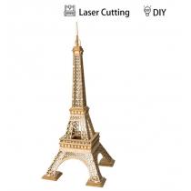 Eiffel Tower TG501 Architecture 3D Wooden Puzzle