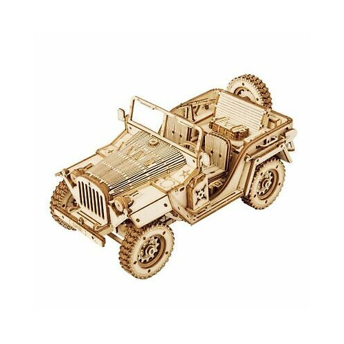 Army Field Car MC701 -1:18 Scale Jeep Model