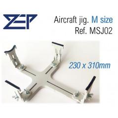 Soporte avión tamaño S