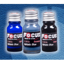 Adriatic Blue Leather Focus Paint Set F-1012