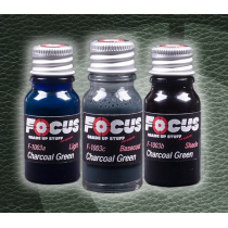 Charcoal Green Leather Focus Paint Set F-1003