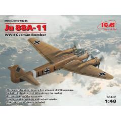 Junkers Ju-88A-11 WWII German Bomber 1/48