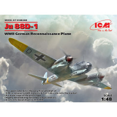 Junkers Ju-88D-1 WWII German Reconnaissance Plane 1/48