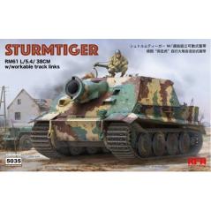 Sturmtiger RM61 L/5.4/38cm 1/35