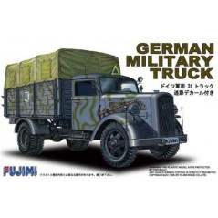 German Military Truck Opel Blitz 3t Camouflaged 1/72