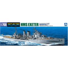Royal Navy Heavy Cruiser HMS Exeter 1/700