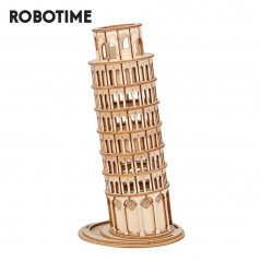 Robotime Leaning Tower of Pisa 3D Wooden Puzzle
