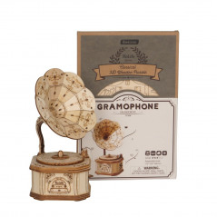 Robotime TG408 Gramophone Modern 3D Wooden Puzzle