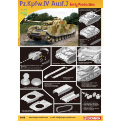 Pz.Kpfw.IV Ausf.J Early Production 1/72