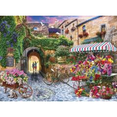 Puzzle Anatolian La Tienda de Flores de la Plaza de 1000 Piezas