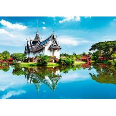Puzzle Trefl Palacio Sanphet Prasat, Tailandia de 1000 Piezas