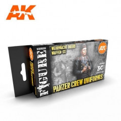 PANZER CREW BLACK UNIFORMS SET 3G