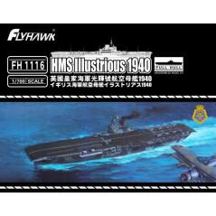 U-boat Type VII B DKM U-99 (2pieces) 1/700