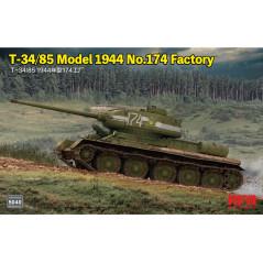 T-34/85 Model 1944 No.174 Factory 1/35
