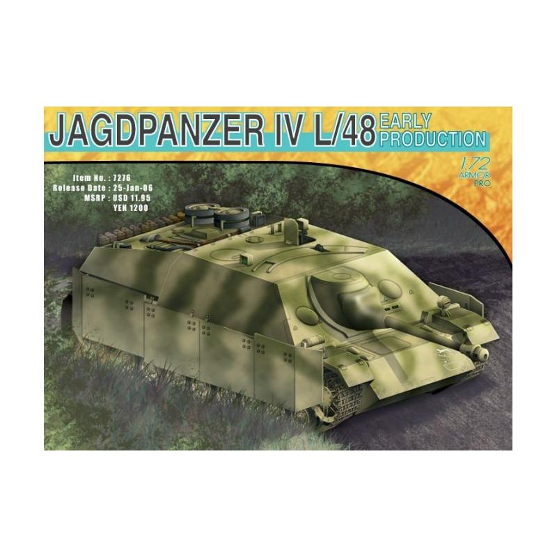 Jagdpanzer IV L/48 Early Production 1/72