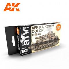 AFRIKA KORPS COLORS 1941-43