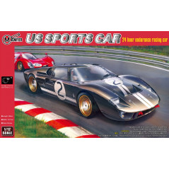 Ford GT40 Mk.II 1966 Le Mans winning GT coupe.1/12