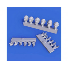 1/35 Apes Heads & Hands set 1/35