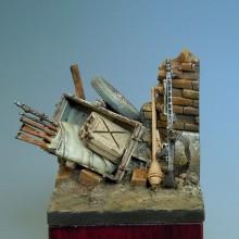 Escenario WWII 40X40MM.