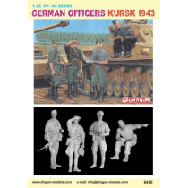 GERMAN OFFICERS, KURSK 1943 1/35