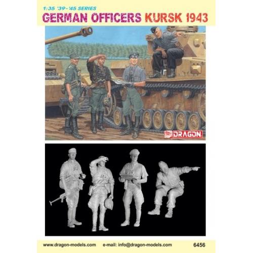 GERMAN OFFICERS, KURSK 1943 1/35