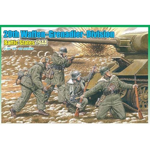 20th Waffen Grenadier Division Baltic States 1/35