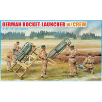 German Rocket Launcher W/Crew '39-'45 Series 1/35