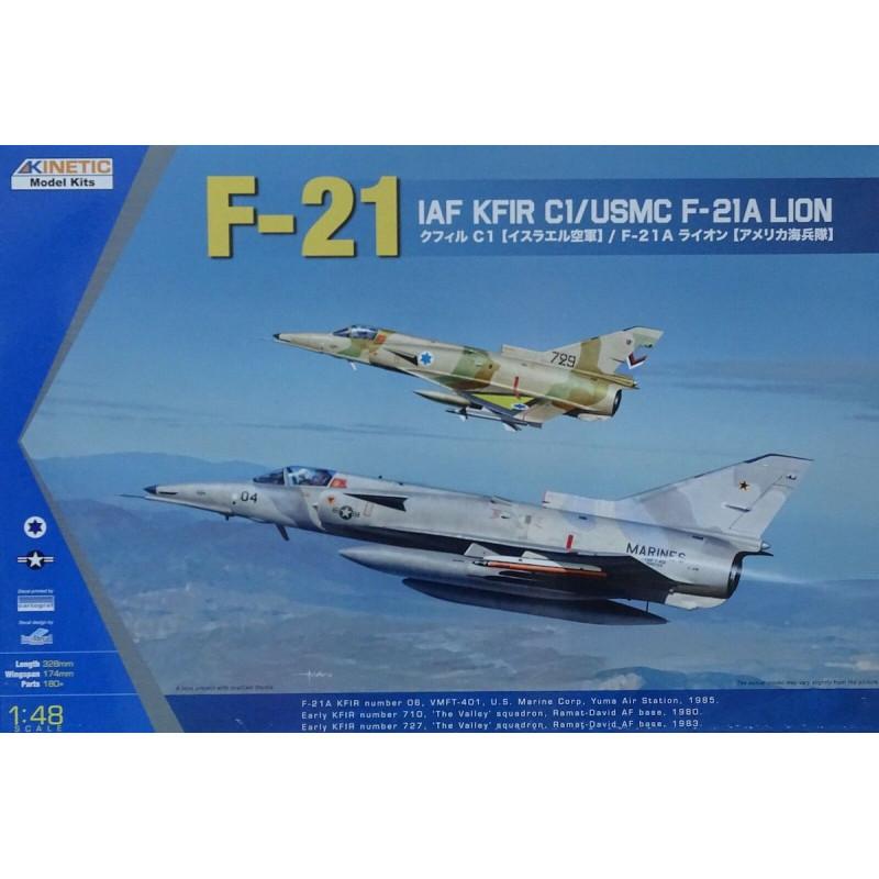 IAI F-21/Kfir C-1  1/48