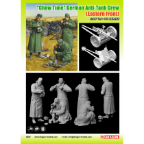 Chow Time German Anti-Tank Gun Crew (Eastern Front) 1/35