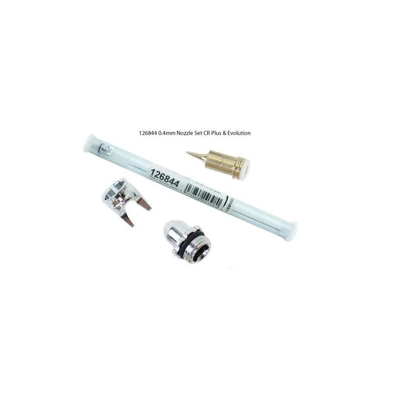 Nozzle set 0.4 mm CR plus fine line, chrome