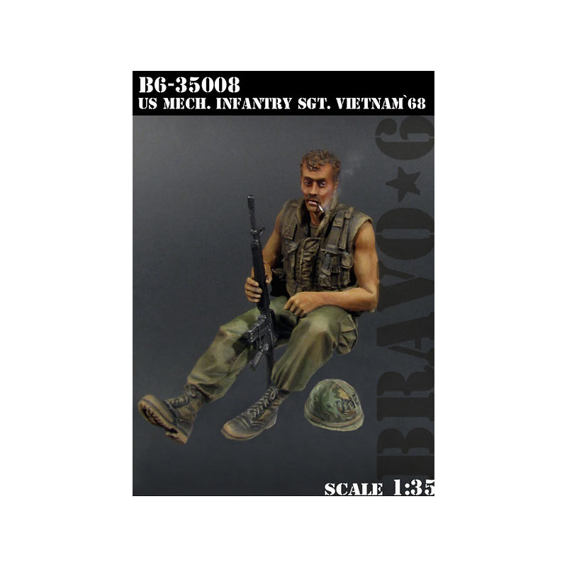 U.S. Mech. Infantry Sgt, Vietnam'68