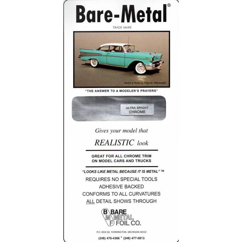 ULTRA BRIGHT CHROME BARE-METAL FOIL