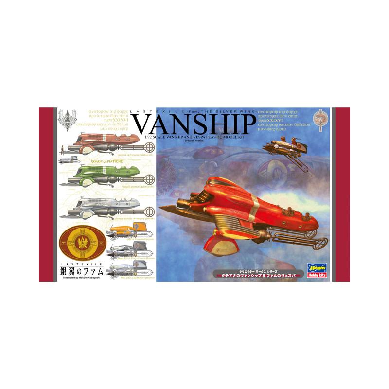 LASTEXILE – Fam The Silver Wing – Tatiana's VANSHIP & Fam's VESPA (2 kits in the box)