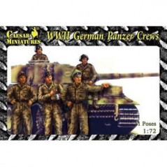 WWII German Panzer Crews 1/72