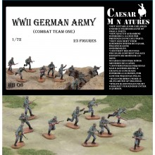 German Infantry (WWII) Army Combat Team 1 1/72