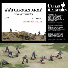 German Infantry (WWII) Army Combat Team 2 1/72