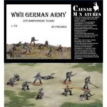 German Infantry (WWII) Army Sturmpioniere Team 1/72