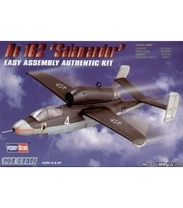 Heinkel He 162 Salamander  1/72